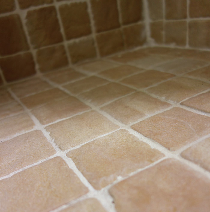 Clean tile grout baking soda tile design ideas for How to clean bathroom grout mold
