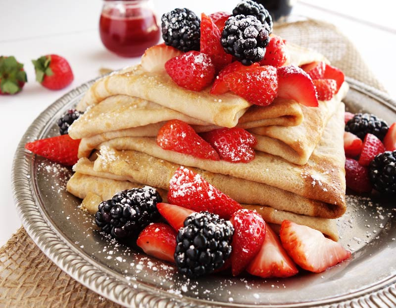 Crepes Or Pancakes Curious Nut