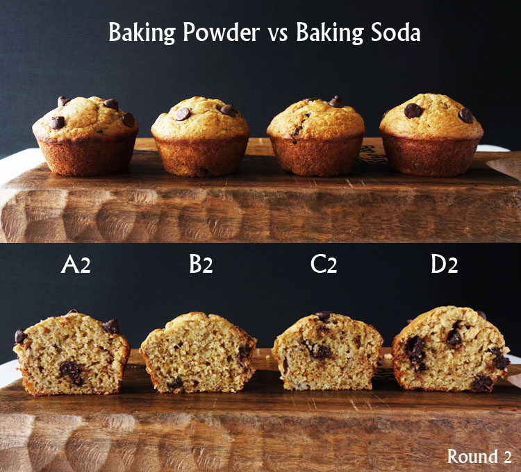 Baking Powder vs Baking Soda In Muffins | Curious Nut