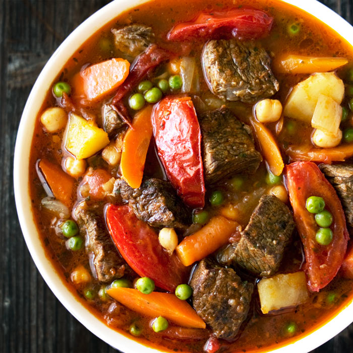 This Curried Beef Stew takes regular beef stew to a whole new level ...