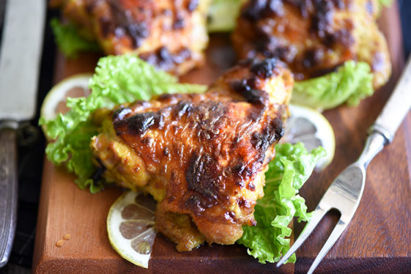 Ayam Percik, a Malaysian grilled or roasted chicken