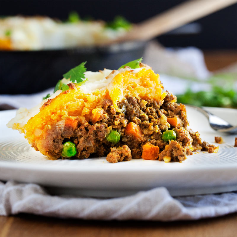 Curried Shepherd S Pie Hearty Rich Curry Beef Stew Baked Under A Thick Blanket Of Creamy