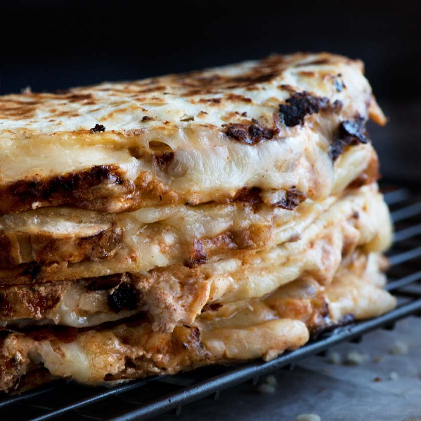 Cajun Chicken Quesadilla Curious Nut