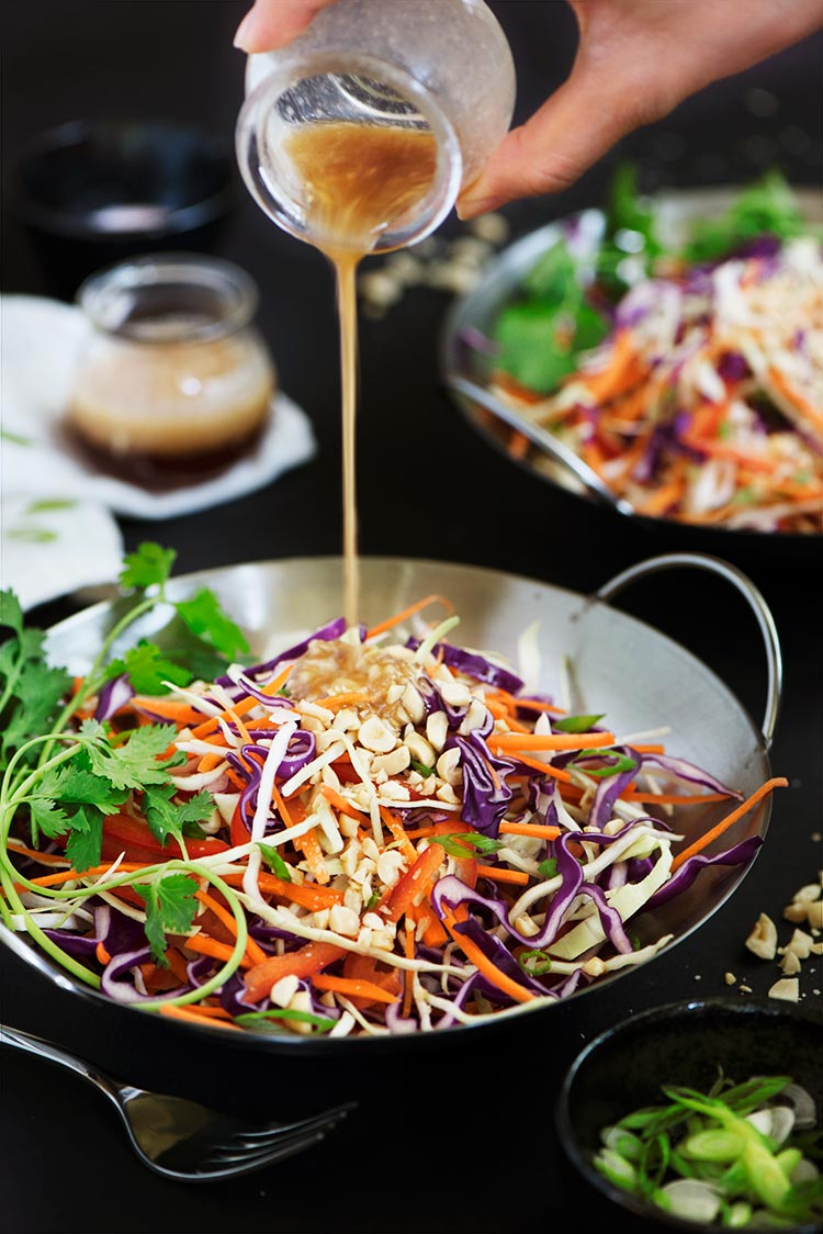 Asian style coleslaw recipe