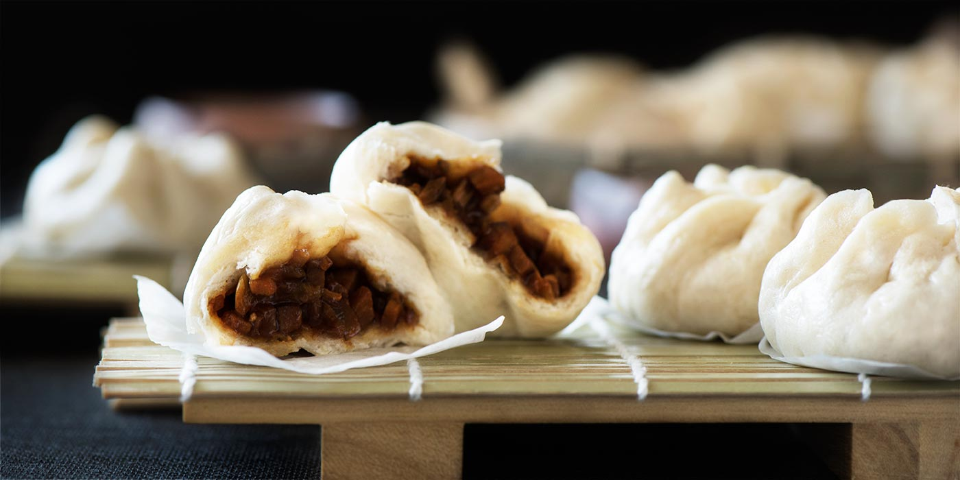 Steamed BBQ Pork Buns Char Siu Bao Curious Nut