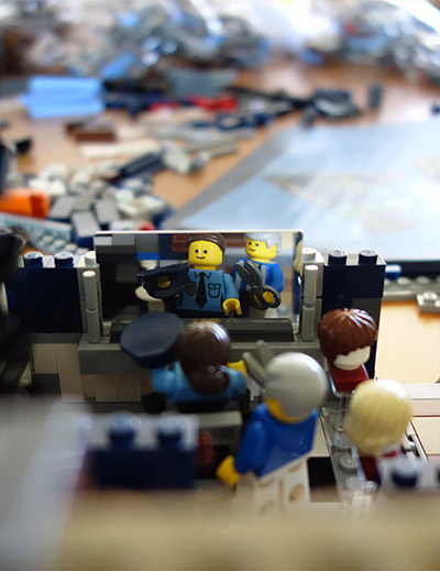 Lego Detective's Office Part 2 - 5