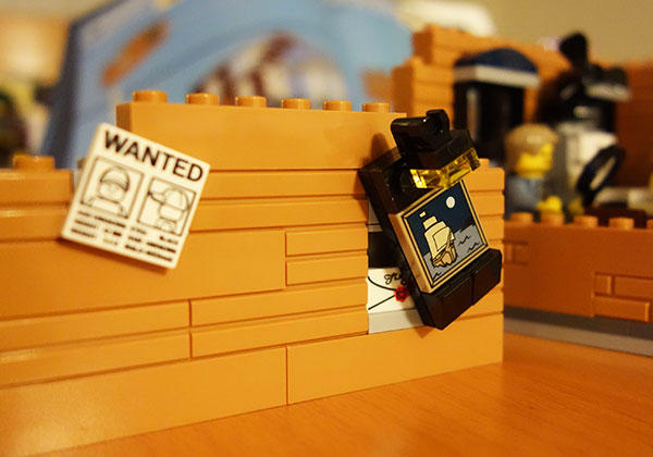 Lego Detective's Office Part 3