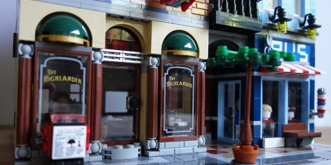 Lego Detective's Office