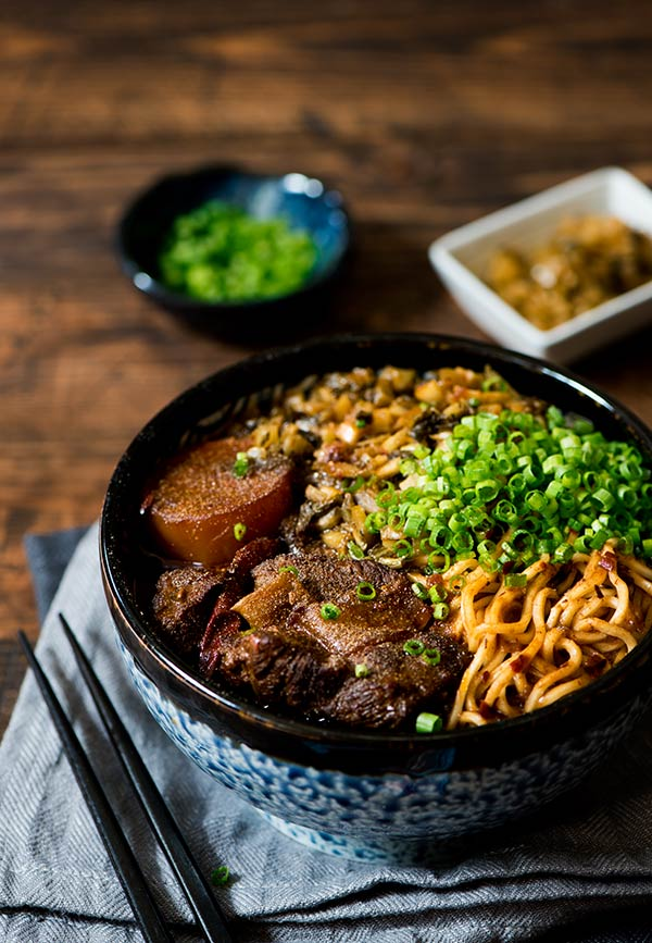 Taiwanese Beef Noodle Soup | Curious Nut
