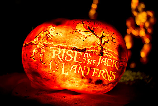 Rise Of The Jack O Lanterns At Descanso Gardens Curious Nut