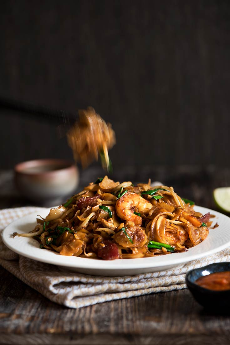 One of the most popular street food in Malaysia, Char Kway Teow is ...