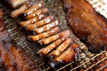 Sticky, tender & moist Chinese BBQ Pork that has been marinated in a sweet & savory concoction. Super simple to make at home and so delicious.