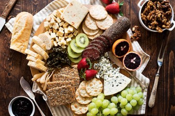 Maple Candied Walnuts & A Spring Inspired Cheese Board