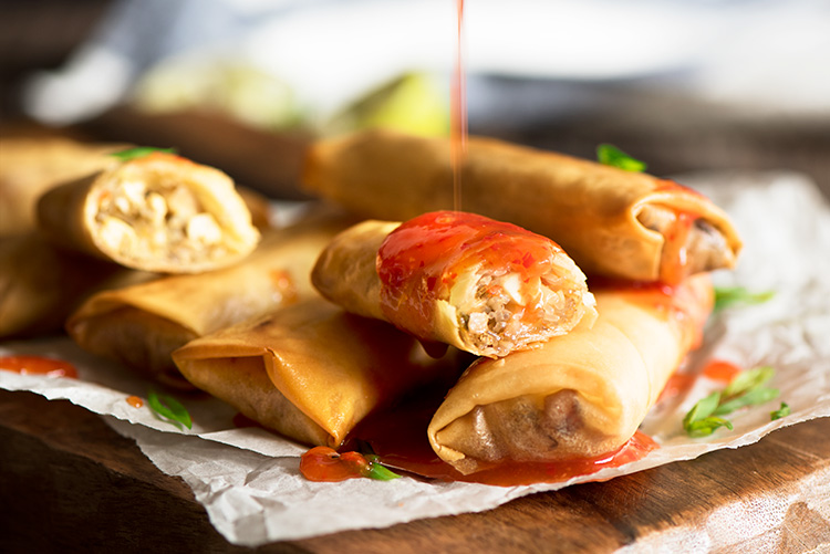 Chinese bbq pork spring rolls curious nut forumfinder Image collections