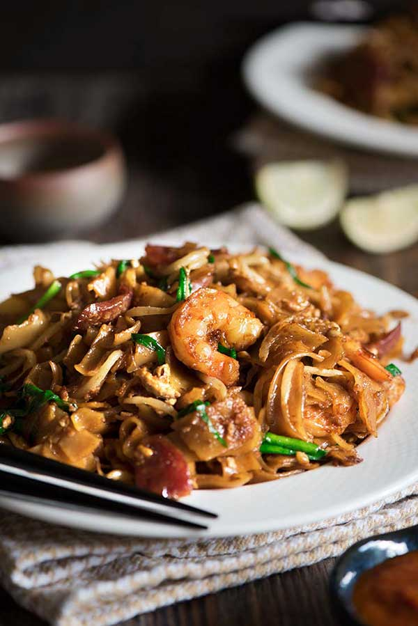 Malaysia Fried Flat Rice Noodles (Char Kway Teow)