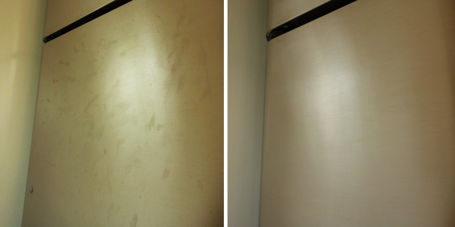 Remove Greasy Fingerprints On Stainless Steel Liances